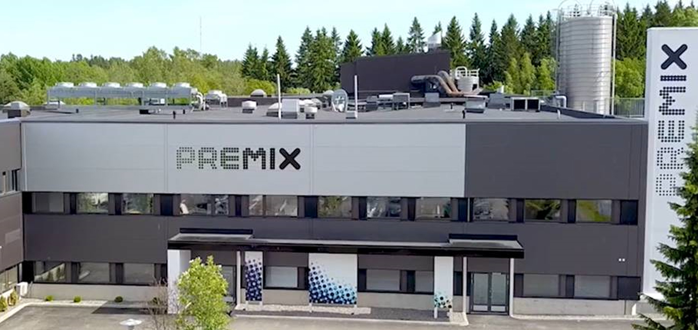 Premix Group Headquarters Rajamäki, Finland