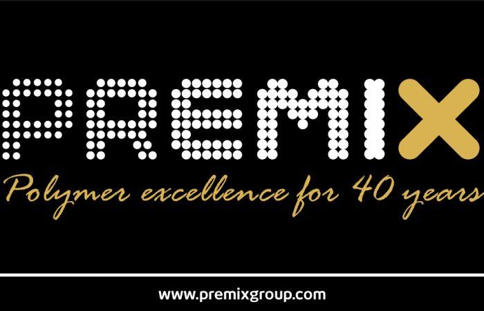 Premix 40th anniversary logo